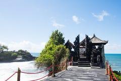 Tempio Bali, Indonesia del lotto di Tanah immagini stock libere da diritti