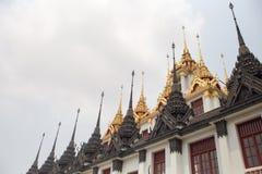 Tempio Bangkok Tailandia di Ratchanadda Fotografia Stock Libera da Diritti