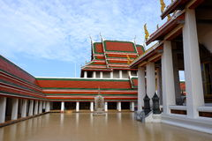 Tempio Bangkok, Tailandia di Saket Immagini Stock