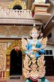 Tempio birmano di Dhamikarama a Penang, Malesia fotografia stock libera da diritti