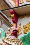 Tempio birmano di Dhamikarama a Penang, Malesia Fotografie Stock Libere da Diritti