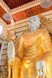 Tempio birmano di Dhamikarama a Penang, Malesia Immagini Stock