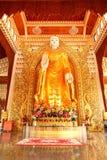 Tempio birmano di Dhamikarama a Penang, Malesia Immagine Stock