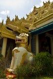 Tempio birmano di Dhammikarama, Penang Immagine Stock
