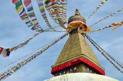 Tempio Bodnath Stupa Fotografia Stock Libera da Diritti