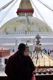 Tempio Bodnath Stupa Fotografie Stock