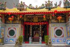 Tempio buddista abbastanza piccolo a Singapore Fotografie Stock