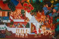 Tempio buddista antico Fotografie Stock Libere da Diritti