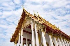 Tempio buddista, Bangkok Tailandia immagine stock