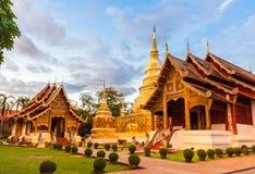 Tempio buddista in Chiang Mai Fotografia Stock Libera da Diritti
