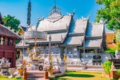 Tempio buddista Chiang Mai, Tailandia immagine stock