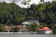 Tempio buddista del dente di Kandy nello Sri Lanka Fotografia Stock Libera da Diritti