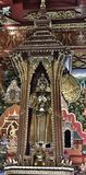 Tempio buddista del ` s a Bangkok Immagine Stock