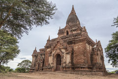 Tempio buddista di Bagan, Myanmar, Birmania Fotografie Stock Libere da Diritti