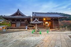 Tempio buddista di Kiyomizu-Dera a Kyoto, Giappone Fotografie Stock