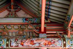 Tempio buddista di Pohyon, Corea del Nord Immagine Stock Libera da Diritti