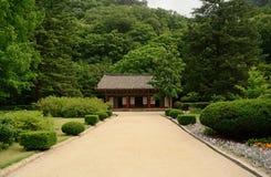 Tempio buddista di Pohyon, Corea del Nord Fotografie Stock