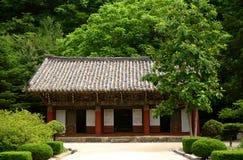 Tempio buddista di Pohyon, Corea del Nord Fotografie Stock Libere da Diritti