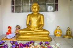 Tempio buddista di Weherahena, Sri Lanka Immagine Stock