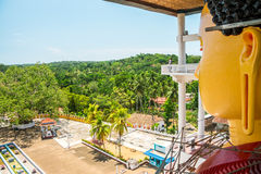 Tempio buddista di Weherahena, Sri Lanka Immagine Stock Libera da Diritti