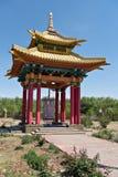 Tempio buddista in Elista, Kalmykiya La Russia immagine stock libera da diritti