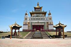 Tempio buddista in Elista, Kalmykiya La Russia immagine stock
