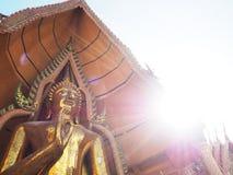 Tempio buddista Kanchanaburi Immagine Stock