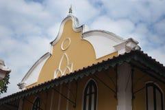 Tempio buddista l'architettura della chiesa (Wat Niwet Thamma Immagini Stock Libere da Diritti