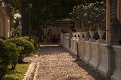 Tempio buddista l'architettura della chiesa (Wat Niwet Thamma Fotografie Stock