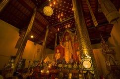 Tempio, tempio buddista nel €Ž di Chiang Mai Thailandâ Immagini Stock Libere da Diritti