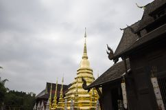 Tempio, tempio buddista nel €Ž di Chiang Mai Thailandâ Fotografia Stock Libera da Diritti