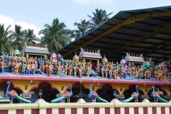 Tempio buddista nello Sri Lanka centrale Fotografia Stock Libera da Diritti
