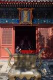 Tempio buddista a Pechino immagini stock