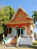 Tempio buddista su Don Khon Fotografia Stock Libera da Diritti