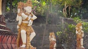 Tempio buddista sull'isola di Bali Fotografie Stock Libere da Diritti