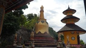 Tempio buddista sull'isola di Bali immagini stock libere da diritti