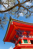 Tempio buddistico variopinto Fotografia Stock