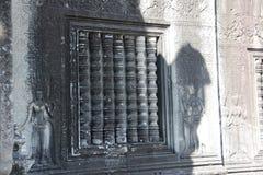 Tempio Cambogia di Angkor Fotografie Stock Libere da Diritti