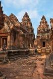 Tempio cambogiano Fotografia Stock Libera da Diritti