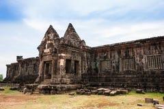 Tempio Champasak complesso, Laos di Phu del tino Immagine Stock Libera da Diritti