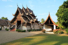 Tempio in Chiang Mai Thailand Fotografie Stock