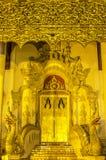 Tempio in Chiangmai, Tailandia Fotografia Stock Libera da Diritti