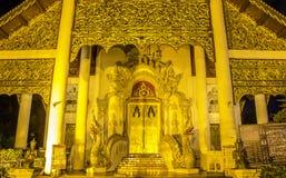 Tempio in Chiangmai, Tailandia Fotografie Stock
