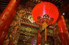 Tempio cinese Fotografia Stock