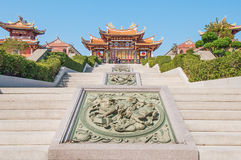 Tempio cinese a Macao fotografie stock