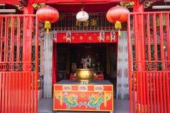Tempio cinese in Melaka, Malesia Fotografia Stock Libera da Diritti