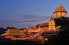 Tempio cinese, Penang, Malesia fotografie stock libere da diritti