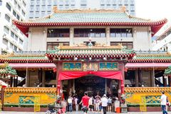 Tempio cinese storico a Singapore Fotografia Stock