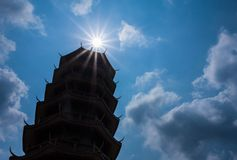 Tempio cinese in Tailandia Fotografie Stock