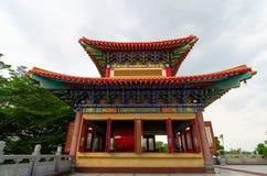 Tempio cinese in Thailand-02 Fotografie Stock Libere da Diritti